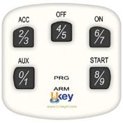 Extra Keypad for Ukey TS1100 WHITE - Part #TS1100-KPWH
