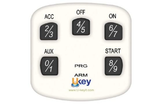 Extra Keypad for Ukey TS1100 WHITE - Part #TS1100-KPWH