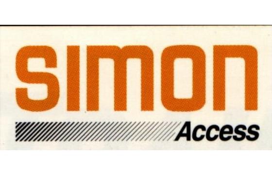 SIMON Decal, [CAUTION-LANYARD]  Part SIM/10-272600