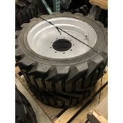 Left-Side 355/55D625 Used Take-Off Foam-Filled Tire Assembly for JLG 600A & 600AJ Part #4520344