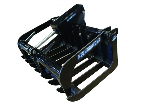 """Root Grapple, 50"""" Mini Series With Full Size Mount, Single Clamp"""