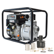 Tomahawk TW3 Portable Multi-Purpose Utility Water Pump with TH50 50 Ft. Hose