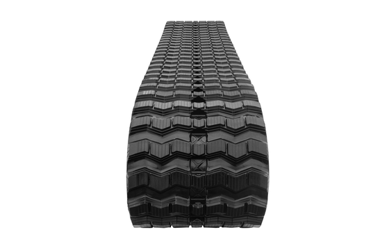 Zig Zag Tread Rubber Track: 450X100X48