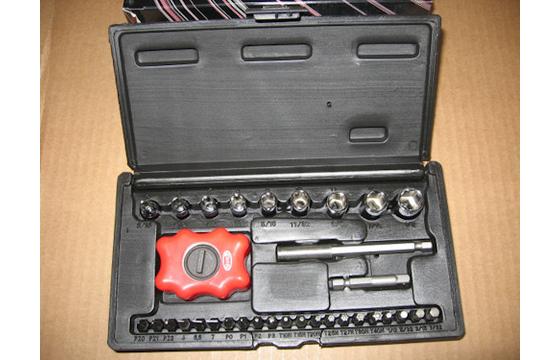 3 Screwdriver Kits Socket Torx Hex Star Phillips Sioux Torq Bit Set