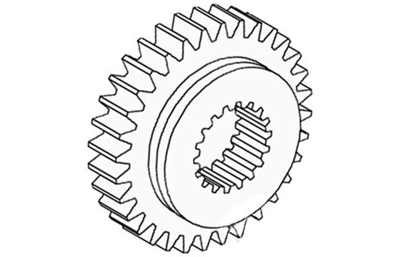 1868010M1 4TH TRANSMISSION COUNTERSHAFT PINION GEAR