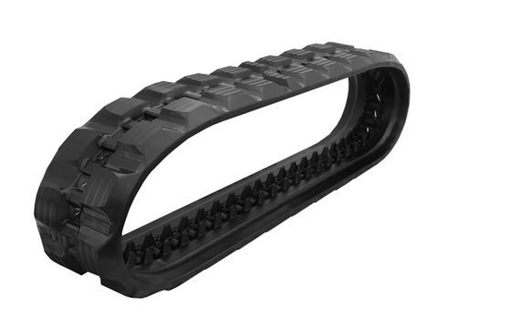 Staggered Block Rubber Track: 450X86X55
