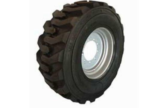 Left-Side 15-19.5 Used Take-Off Foam-Filled Tires for JLG 600S, 600SJ & 660SJ Part #7021532