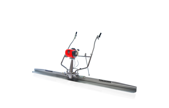 Tomahawk TVSA-H Vibratory Concrete Screed Assembly with TSB14-P 14 Ft. Magnesium Blade Pro Series Board