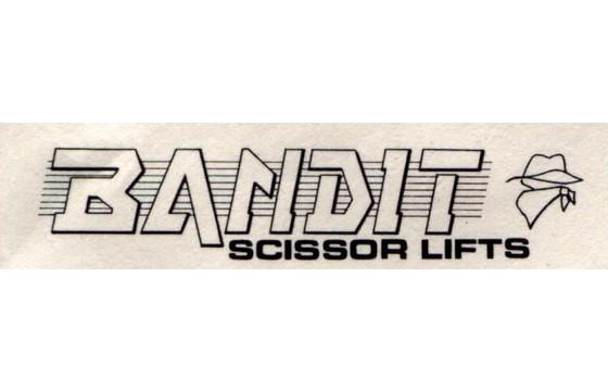 BANDIT  Decal, ( UCB CONSOLE )  Part BAN/31000162-00
