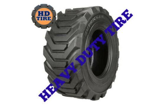 (2) 12-16.5 New OTR Outrigger Loose 12 Ply Tire 12X16.5, 12165 Tyre