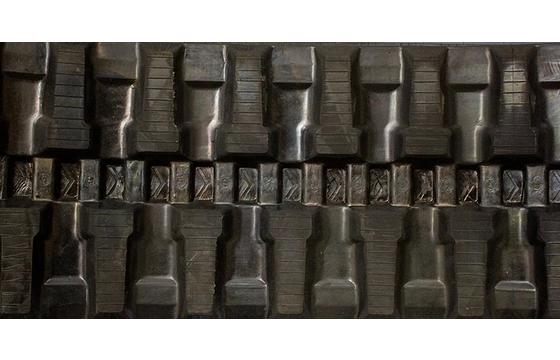 450X86X55 Rubber Track - Fits Bobcat Models: T740 / T750, T Block Tread Pattern