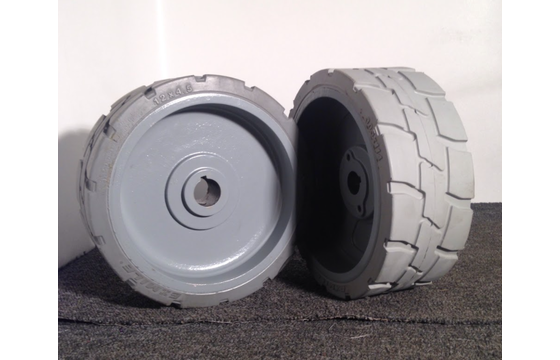 Genie GS-1530 & GS-1930 Solid Tire & Wheel Assembly