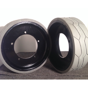 JLG 1930ES Solid Tires & Wheel Assembly