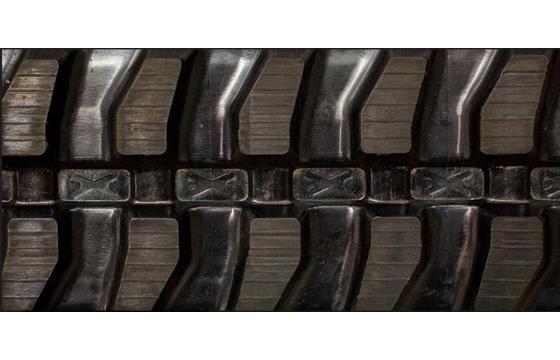 Dominion 400X72.5WX74 Rubber Track for Bobcat E50, Mini-Block Pattern