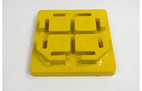 Hydraulic Post Driver- Guardrail Plate