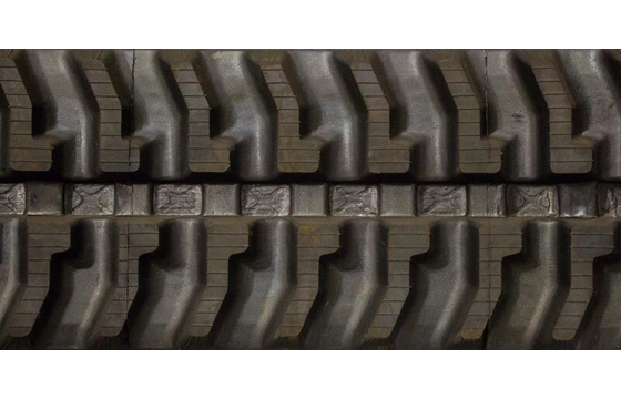 230X72X42 Rubber Track - Fits Kubota Models: KH05 / KH12 / KH14 / KH28 / KH31 / KH35 / KH36 / KH37 / KH38, 7 Tread Pattern