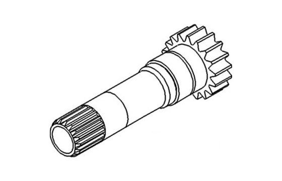 1868531M1 TRANSMISSION PINION SHAFT