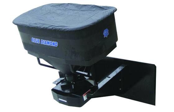 Hd Material Spreader, 18 Cu Ft, Includes Hoses And Couplers