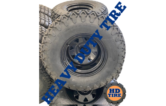 (4) 25x10-12 Armstrong 350 Super Mag Atv Tires On Wheels 25x10x12, 251012 Tyres