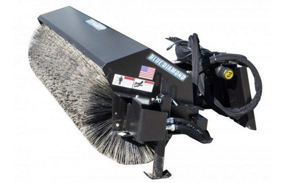 """72"""" Hydraulic Heavy Duty Rotary Angle Broom"""