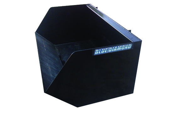 "72"" Dumpster Bucket for Skid Steer"