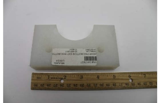 Bottom Extension Rod Wear Pad | Genie Part 34178GT