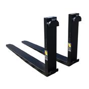 "1.75x4x48 CL2 Standard ITA Forklift Fork - Pair, 16"" (407 mm) Tall Carriage"