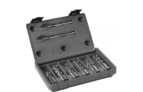 """Euroboor HCS.KIT/9 HSS 6 Piece Cutter Set 1"""" & 2"""""""