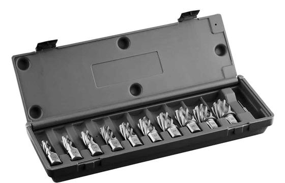 Euroboor HSS.KIT/10S-I2 HSS 10 Piece Cutter Set 1″