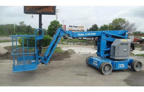 2013 Genie Z-34/22 N Articulating Boom Lift