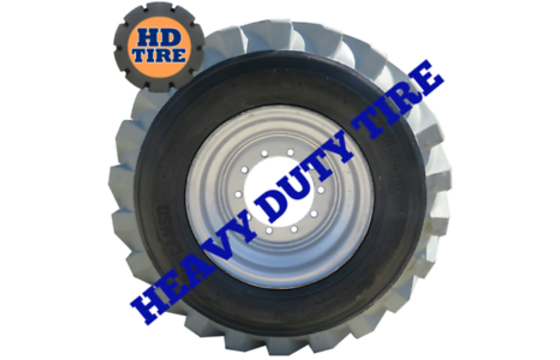 14.00-24 New Non-Marking Foam Filled, Telehandler 140024, 1400 24 Tyres x2