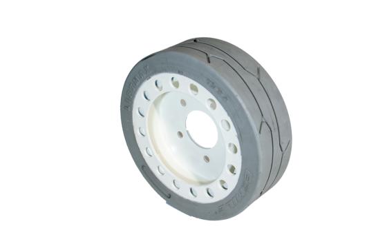 SkyJack SJIII 3219/3215 Tire & Wheel Assembly with Brake Ring - Rear
