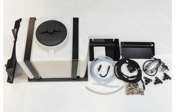 """Broom Water Kit To Fit Hd Series 2 & Severe Duty Angle Broom 25 Gal Tank Fits 60""""-96"""" (Req's 2 Mounting Brackets)"""