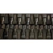 400X72.5X76 Rubber Track - Fits Hyundai Model: Rolex 55-3, T Block Tread Pattern