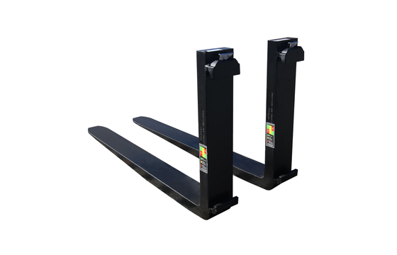 "2x6x60 CL4 Standard ITA Forklift Fork - Pair, 25"" (635 mm) Tall Carriage"