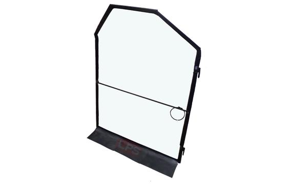 Vinyl Replacement Door with Hinges for Bobcat OEM 6675590