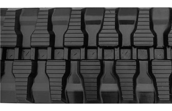 T Tread Rubber Track: 400X72.5WX70
