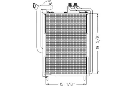 AL119566 OIL COOLER / CONDENSER