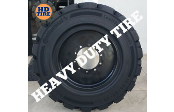 14.00/85-28 Continental Qty 4 - Solid Tire On 10 Lug, 1400X85X28, Tyre