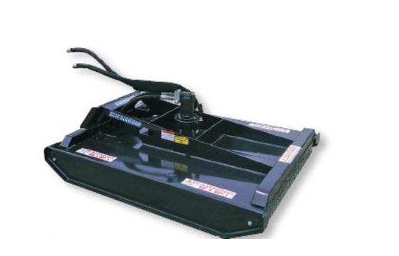 """Brush Cutter, Mini Skid Steer Closed Front, 42"""" Cut, 80cc 13-24 Gpm Uni Mini Mount"""