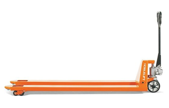 "ACL44-2180 Noblelift Extra-Long Fork Pallet Jacks (Fork Size 21"" x 80"")"