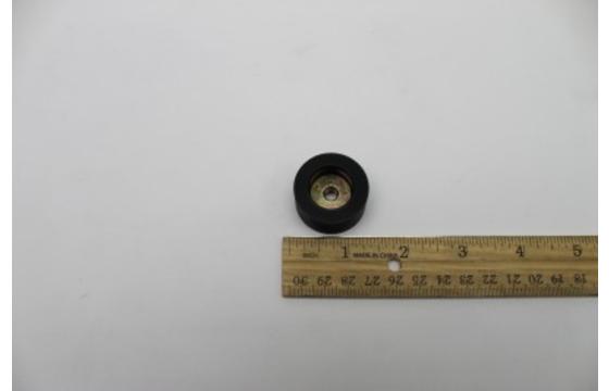 Round Wear Pad 1.25OD X .5 Thick with Nut Genie Part 825938GT