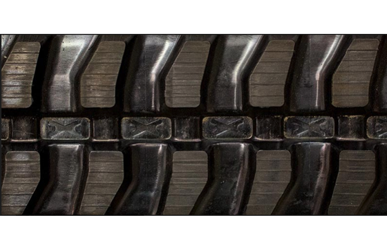 230X72X45 Rubber Track - Fits Scattrack Model: 520, Mini Block Tread Pattern