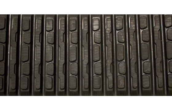 Dominion 457X102X51 Rubber Track for Caterpillar 297C, OEM/ASV Bar Tread Pattern