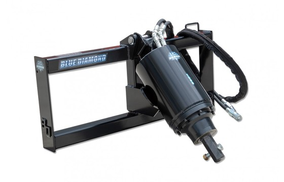 """Auger Drive Only Model 15H Series 2, Flow Range 15-30 Gpm (2"""" Hex Shaft) Add Mount And Hoses"""