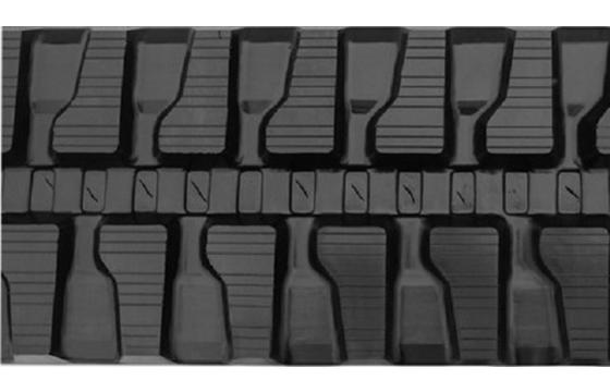 #7 Tread Rubber Track: 420X100X58