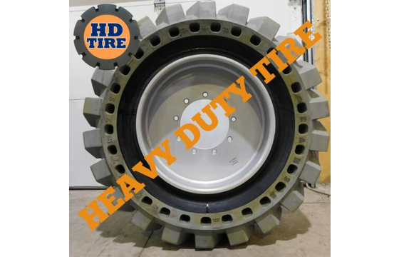 36x14-20 Camso Solidair Tire Qty 4 - Solid Assembly, 36x14x20, 361420 Tyre