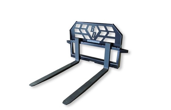 """Pallet Fork Assembly 48"""" With Steps 4000Lbs Capacity"""