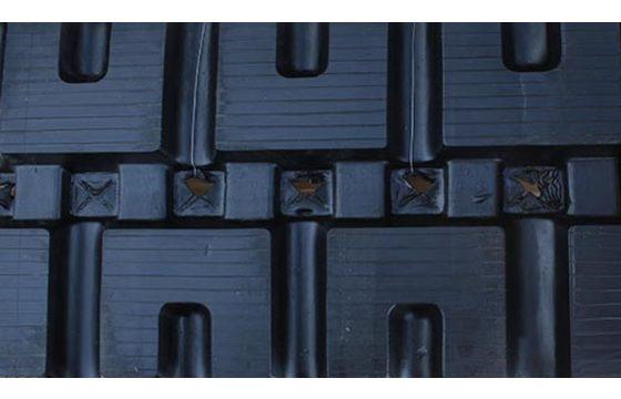 """Dominion 12"""" B320X86X52C Rubber Tracks for John Deere 319D&E, 323 D&E, CT322"""