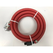 """Pneumatic Whip Hose 6' Length 1/2"""" Hose with Swivel & CP Fitting L-5"""